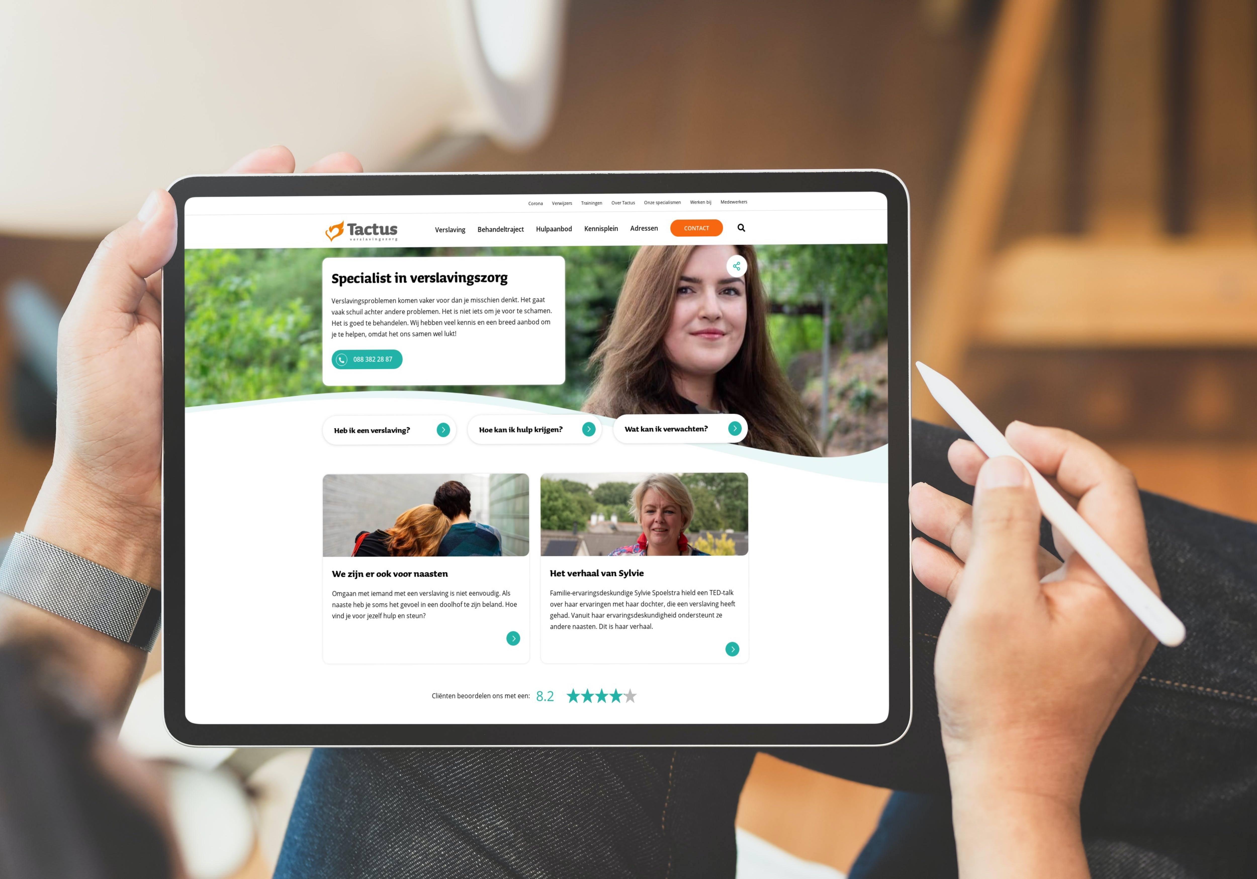Webinar de ideale website voor jouw bezoeker tactus